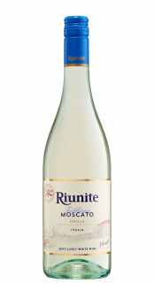 Vinho Riunite Frisante Branco Suave Trebbiano Moscato Emilia I.G.T. 750ml