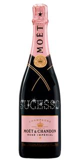 Champagne Moët Rosé Impérial Personalizada 750 ml
