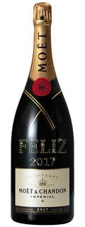 Champagne Moët Impérial Brut Personalizada Magnum 1,5 L