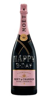 Champagne Moët Rosé Impérial Personalizada Magnum 1,5 L