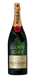 Champagne Moët Impérial Brut Personalizada Jeroboam 3 L