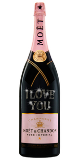 Champagne Moët Rosé Impérial Personalizada Jeroboam 3 L