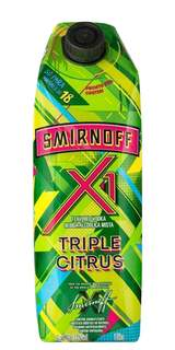 Vodka Smirnoff X1 Triple Citrus 1L