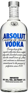 Vodka Absolut Natural 1,5 L