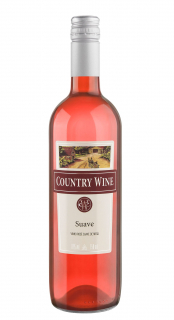 Vinho Country Wine Rosé Suave 750ml