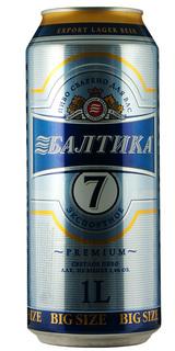 Cerveja Baltika 7 Export Latão 1 L