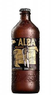 Cerveja Coruja Alba Weizenbock 500ml