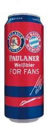 Cerveja Paulaner Weissbier For Fans Lata 500 ml - Ed. Limitada