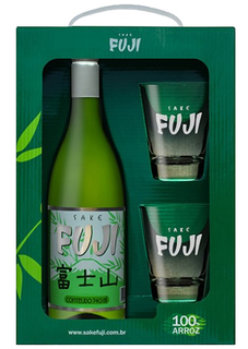 Sake Fuji 740 ml com 02 Copos (Kits)