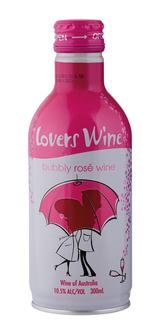 Vinho Lovers Wine Rose Frisante Demi Sec 300ml