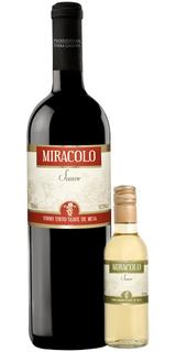 Vinho Miracolo Tinto Suave 750 ml + Vinho Miracolo Branco Suave 250 ml