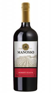 Vinho Manosso Tinto Suave 1L