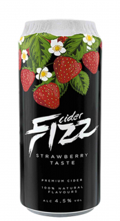 Cider Fizz Premium Strawberry 500ml