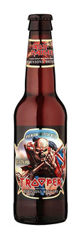 Cerveja Trooper Golden Iron Maiden Long Neck 330 ml