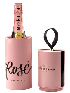 Champagne Moët Rose Black Tie Box 750 ml (Kits)