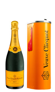 Champagne Veuve Clicquot Brut Mail Box 750 ml (Kits)