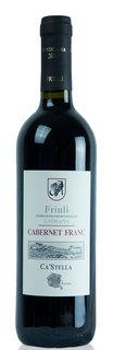 Vinho Ca'Stella Friuli Latisana Cabernet Franc D.O.C. 750 ml
