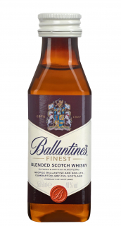 Miniatura de Whisky Ballantines Finest 50ml