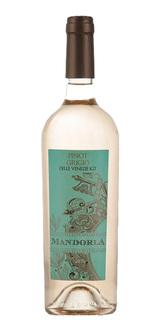 Vinho Mandorla Branco Pinot Grigio 750ml