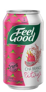 Chá Branco Feel Good com Pitaya Lata 330ml