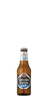 Cerveja Estrella Galicia 0,0% Álcool Long Neck 250 ml