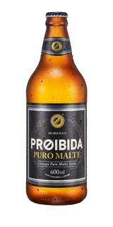 Cerveja Proibida Puro Malte 600 ml