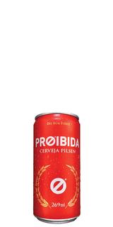 Cerveja Proibida Pilsen Lata 269 ml