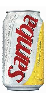 Cerveja Samba Pilsen Lata 350 ml