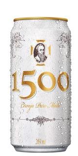 Cerveja 1500 Puro Malte Lata 269 ml