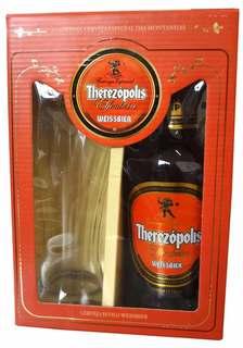 Cerveja Therezópolis Weissbier 600 ml com Copo (Kits)