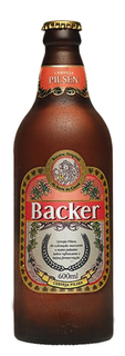 Cerveja Backer Pilsen 600 ml