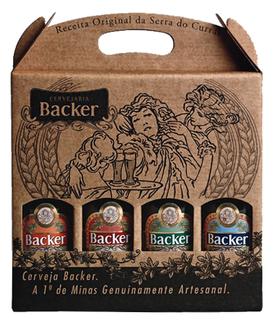 Cerveja Backer 04 Garrafas 355 ml (Kits)