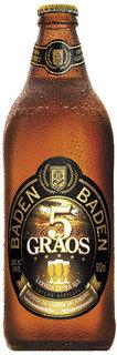 Cerveja Baden Baden 5 Grãos 600ml