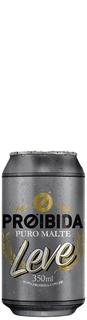 Cerveja Proibida Leve Lata 350ml