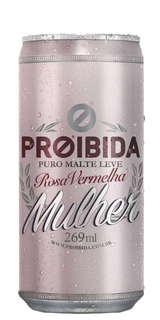 Cerveja Proibida Mulher Lata 269ml