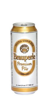 Cerveja Brauperle Pils Lata 500ml
