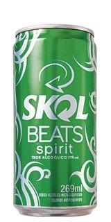 Cerveja Skol Beats Spirit Lata 269ml