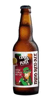 Cerveja Cevada Pura Irish Red Ale 500ml