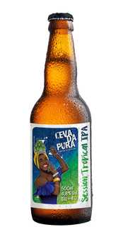 Cerveja Cevada Pura Session Tropical Ipa 500ml