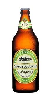 Cerveja Campos do Jordão Lager 600ml