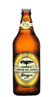 Cerveja Campos do Jordão Ginger 600ml