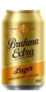Cerveja Brahma Extra Lager Lata 350ml