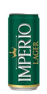 Cerveja Império Lager Lata 269ml