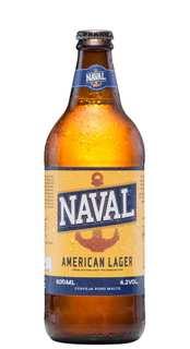 Cerveja Naval American Lager 600ml