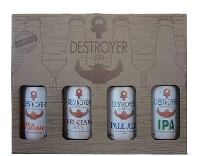 Cerveja Destroyer 4 Garrafas 500ml (Kits)