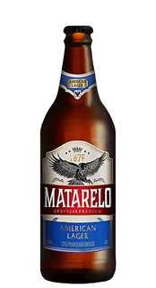 Cerveja Matarelo American Lager 600ml
