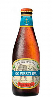 Cerveja Anchor Brewing Go West IPA Long Neck 355ml