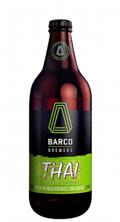 Cerveja Barco Brewers Thai Gengibre Weiss 600ml