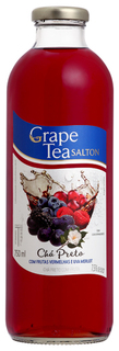 Chá Preto Grape Tea Salton Frutas Vermelhas e Uva Merlot 750 ml