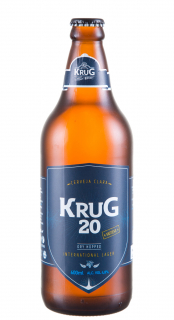 Cerveja Krug 20 International Lager 600ml